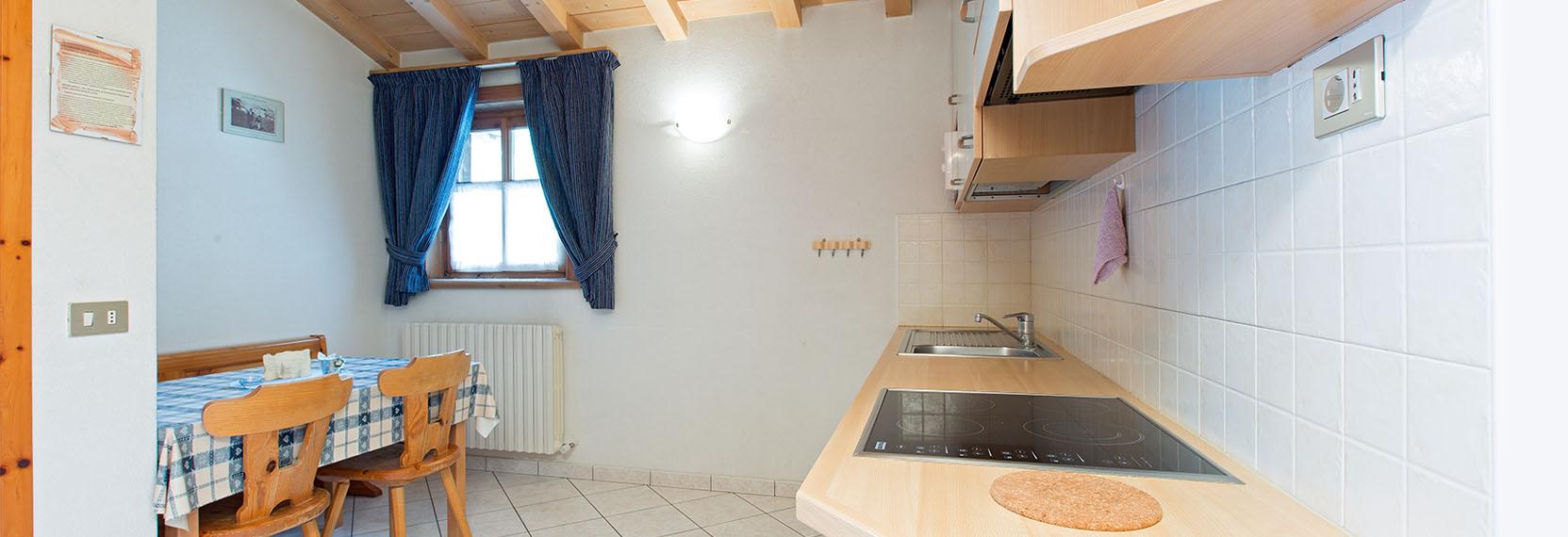 Appartamento blu di Bait Vegl a Livigno