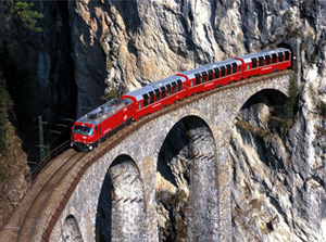 Trenino Rosso del Bernina Valtellina